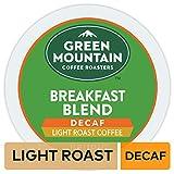 Green Mountain Coffee Roasters Breakfast Blend Decaf, Single Serve Coffee K-Cup Pod, Light Roast, 72