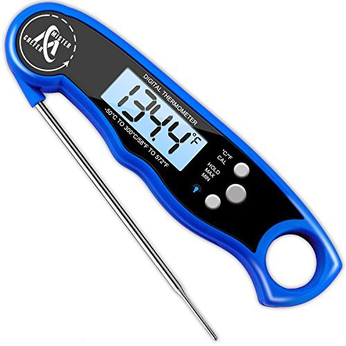 (5) Mister Chefer Waterproof Instant Read Thermometer