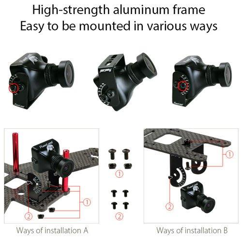 RunCam Eagle 800TVL FPV Camera 4:3 Mini for Racing Drone DC