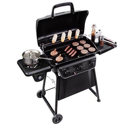 Char-Broil-Classic-360-3-Burner-Liquid-Propane-Gas-Grill-with-Side-Burner