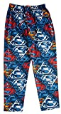 DC Comics Mens' Superman Color Logo Cotton Pajama Pants M