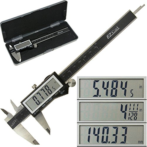 iGaging IP54 Electronic Digital Caliper 0-6' Display Inch/Metric/Fractions Stainless Steel Body