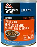 Mountain House Italian Style Pepper Steak #10 Can