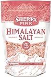 Sherpa Pink Gourmet Himalayan Salt - 2 lb. Bag Coarse Grain - For Grinders and Salt Mills