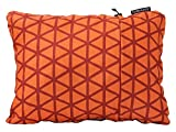 Therm-a-Rest Compressible Travel Pillow for Camping, Backpacking, Airplanes and Road Trips, Cardinal, X-Large - 16.5 x 27 Inches