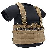 GLORYFIRE Tactical Vest Elite Molle Law Enforcement Vest Assault Chest Modular Vest (TT)