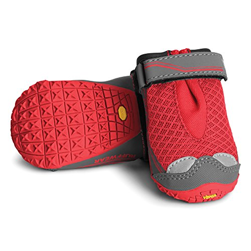 RUFFWEAR - Grip Trex, Red Currant, 2.75 in (2 Boots)