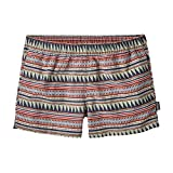 Patagonia Barely Baggies Short - Women's (Large, Belay Stripe/Desert Sage)