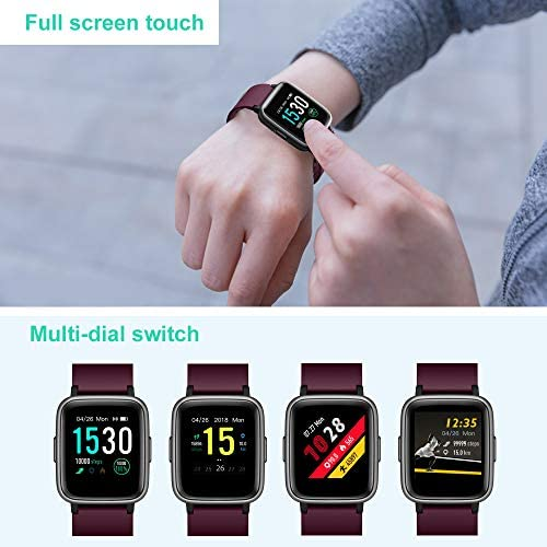 Willful Smart Watch for Android Phones Compatible iPhone Samsung IP68 Swimming Waterproof Smartwatch Sports Watch Fitness Tracker Heart Rate Monitor Digital Watch Smart Watches for Men Women Purple 11