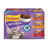 Purina Friskies Meaty Bits Variety Pack Cat Food - 4.12 lb. Box (24 count)