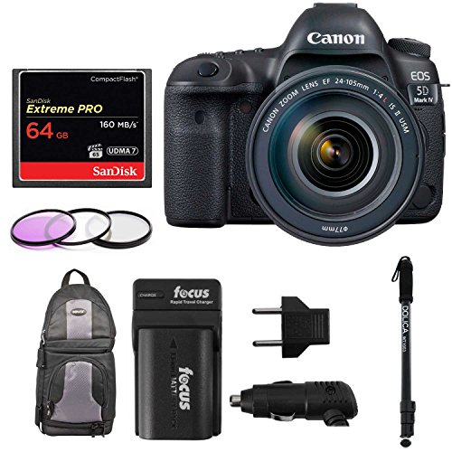 Canon EOS 5D Mark IV Full Frame Digital SLR Camera Bundles