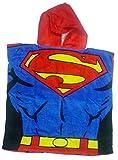 DC Comics Superman Hoodie Hooded Poncho Towel - Licensed Superman Merchandise