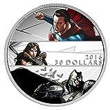 2016 CA Batman v Superman: Dawn of Justice $30 - 2 oz. Fine Silver Coin $30 Brilliant Uncirculated