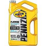 Pennzoil Platinum Full Synthetic 5W-30 Motor Oil (5-Quart, Single-Pack)