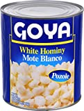 Goya Foods White Hominy, 108 Ounce (Pack of 6)