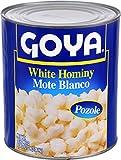 Goya Foods White Hominy, 108 Ounce (Pack of 6)