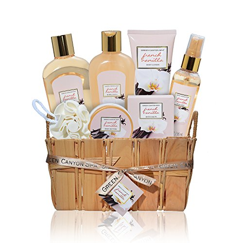Valentine's Day Gift Set Luxury French Vanilla Home Spa – LOW PRICE