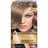 L'Oréal Paris Superior Preference Fade-Defying + Shine Permanent Hair Color, 7A Dark Ash Blonde, 1 kit Hair Dye
