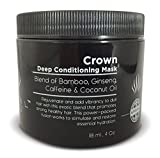 Royal Locks Deep Conditioning Repair for Curly, Wavy, Dry, Damaged, Colored Hair for Hydrating Moisture and Conditioning, Hair Mask Treatment Cream & Cap
