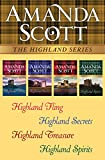 The Highland Series: Highland Fling, Highland Secrets, Highland Treasure, and Highland Spirits