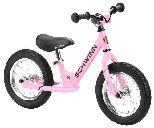 Schwinn Balance Bike, 12' Wheels, Pink