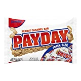Hershey's Payday Peanut Caramel Snacksize Candy Bar Jumbo Bag, 20.3 oz