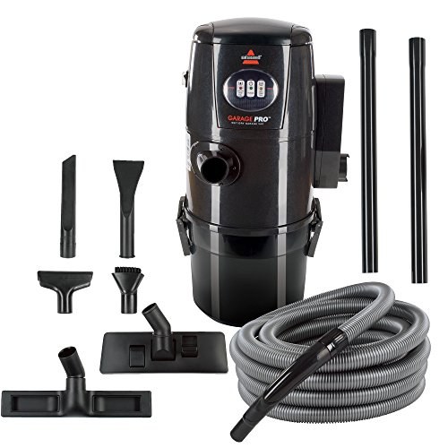 Bissell Garage Pro Wall-Mounted Wet Dry Car Vacuum/Blower with Auto Tool Kit, 18P03