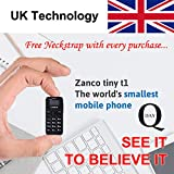 Q-Day Zanco Tiny T1 Mobile Phone. World's Smallest Phone from United Kingdom