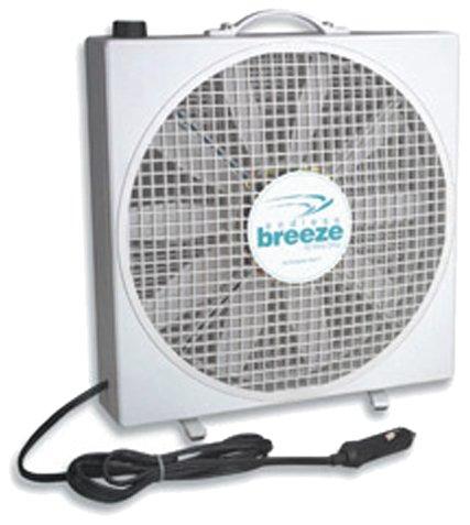 Fan-Tastic Vent 01100WH Endless Breeze - 12 Volt Fan