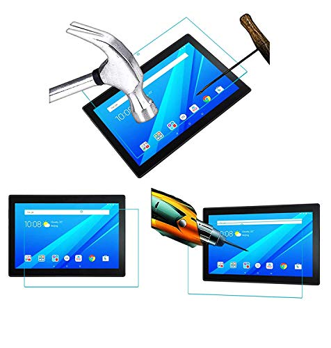 Acm Tempered Glass Screenguard Compatible with Lenovo Tab 4 10 Tb-X304l Tablet Screen Guard 107