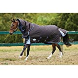Product review for Weatherbeeta Comfitec Ultra Cozi Detach-A-Neck Heavy Charcoal/Blue/White 81""