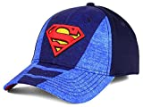 DC Comics Men's Superman Suited Flex Hat Cap - Blue (S/M)