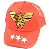Mujer Maravilla Gorra Trucker Camionero Wonder Woman Broche Ajustable Snapback