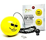 Double Garage Parking Aid - Ball Guide System. Simple to install adjustable parking assistant kit includes a retracting ball sensor assist solution. Perfect Garage Car Stop Indicator for all Vehicles