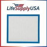 LifeSupplyUSA True HEPA Air Cleaner Replacement Filter for HoMedics AF-10FL AF-10 Air Cleaner