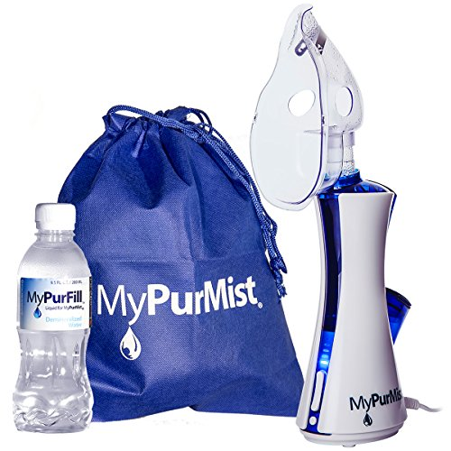 MyPurMist Handheld Personal Steam Inhaler and Vaporizer - Classic Kit