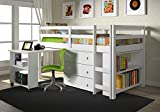 Donco Kids Low Study Loft Bed