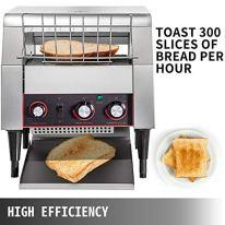 VEVOR-2200W-Commercial-Conveyor-Toaster300PCSHour-110V-Heavy-Duty-Stainless-Steel-Toaster-for-Restaurant-Breakfast-Sliver
