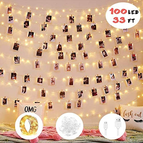 Photo Clip String Lights - Dorm Room Decor