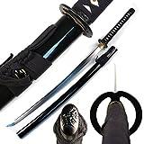 Musashi - 1060 Carbon Steel - Best Miyamoto Sword (Black)