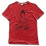 Men's Buddha Art Crazy Shirts Printed