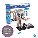 Snap Circuits BRIC: Structures ~ Brick and Electronics Exploration Kit | Over 20 STEM & Brick Projects | 4-Color Idea Book | 20 Snap Modules | 75 BRIC-2-SNAP Adapters | 140+ BRICs