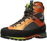 SCARPA Men's CHARMOZ Mountaineering Boot, Shark/Orange, 44.5 EU/11 M US
