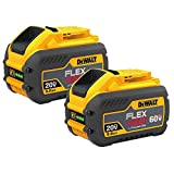 DEWALT DCB609-2 20V/60V MAX FLEXVOLT 9Ah Battery, 2 Pack