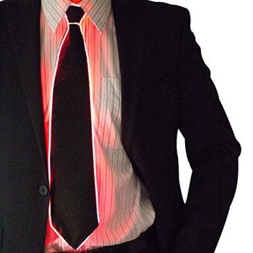 Neon Nightlife Light Up Neck Tie for Men