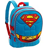 "Dc Comics Batman ""Molded Chest"" 16"" Children's School Backpack (Superman 3D Chest Backpack)"