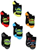 TMNT Ninja Turtles Boys 6 pk Ankle Socks (6-8 (Little kid/Big kid shoe size: 10.5-4)),Multi-Colored by Nickelodeon