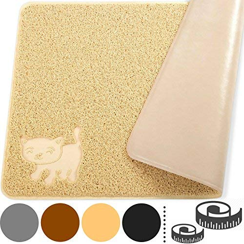 Smiling-Paws-Pets-Cat-Litter-Mat-BPA-Free-XL-Size-35-x235-Non-Slip-Tear-Scratch-Proof-Easy-to-Clean-Kitty-Litter-Catcher-with-Scatter-Control-Extra-Large-Beige