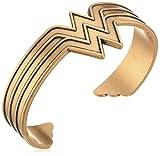 Alex and Ani Wonder Woman Rafaelian Gold Cuff Bracelet