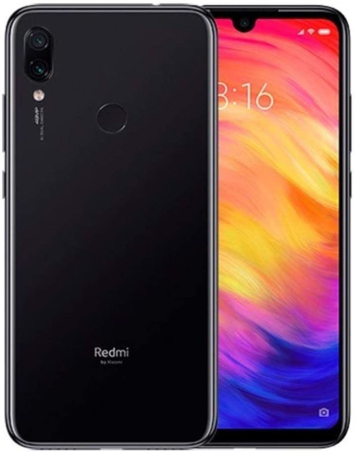 Xiaomi Redmi Note 7, 64GB/4GB RAM, 6.30'' FHD+, Snapdragon 660, Blue - Unlocked Global Version, No Warranty